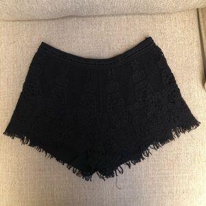 Cute black shorts